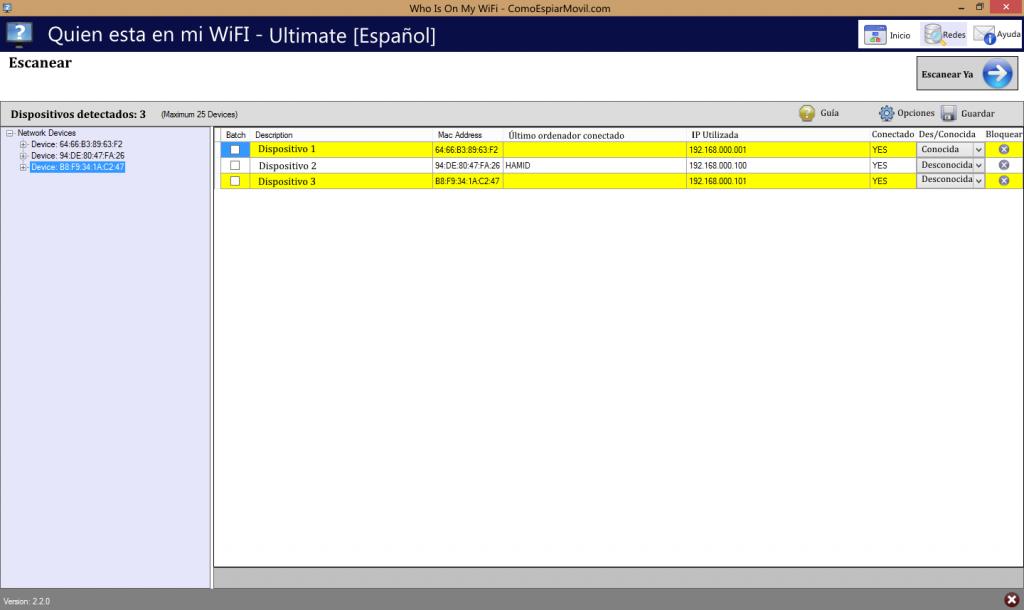 Descargar Who Is On My WiFi español
