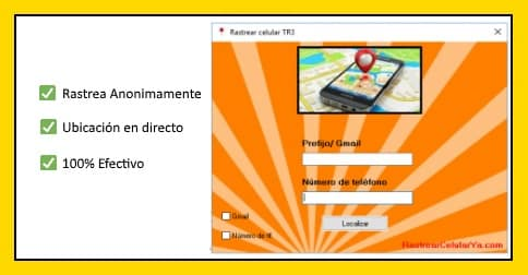 aplicación rastrear celular tr3