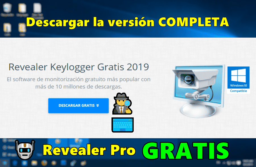 Descarga Revealer Keylogger PRO