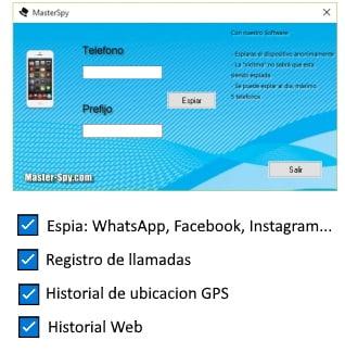 aplicacion para espiar celulares master spy