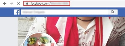 buscar url de un usuario de facebook