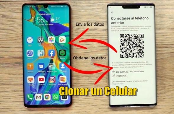 clonar un celular al completo