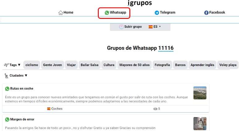 link de grupos de whatsapp